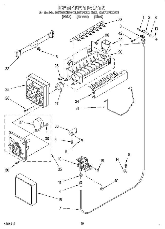 Diagram for ED27DQXDN02