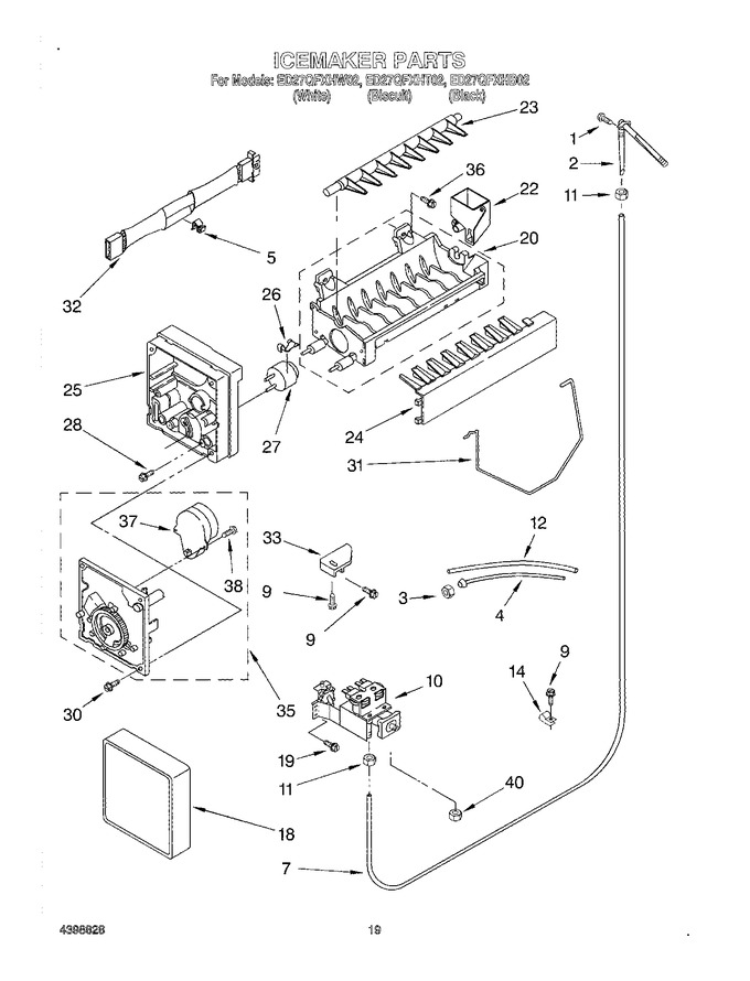 Diagram for ED27QFXHB02