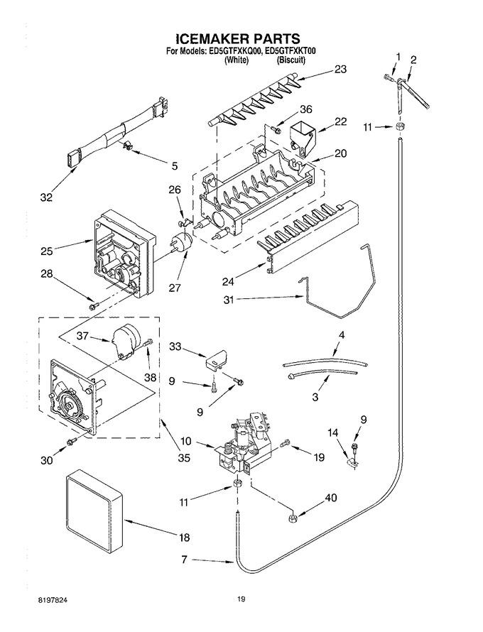 Diagram for ED5GTFXKT00