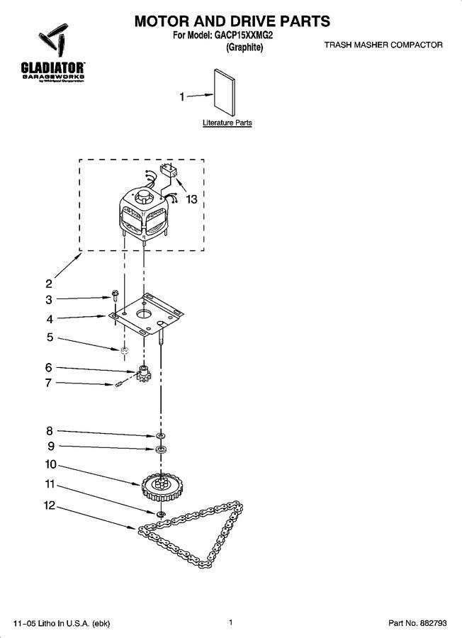 Diagram for GACP15XXMG2