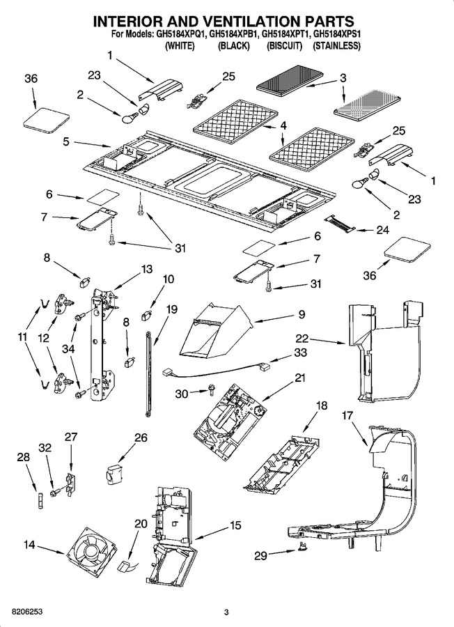 Diagram for GH5184XPS1