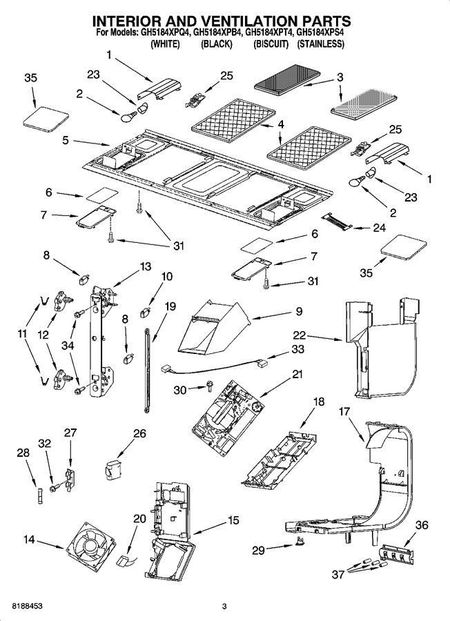 Diagram for GH5184XPQ4