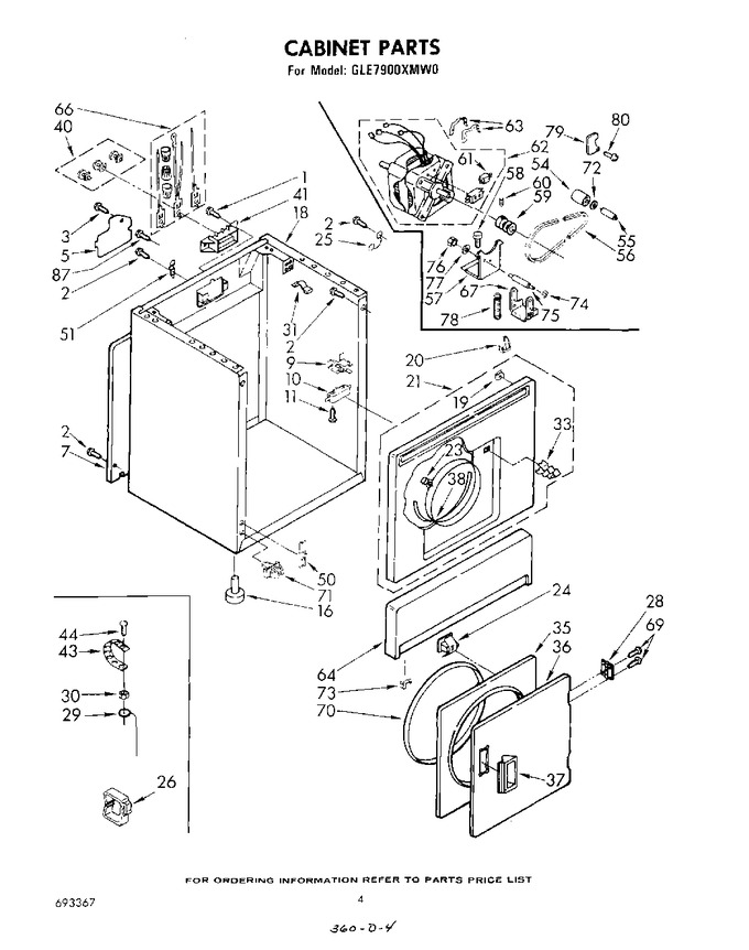 Diagram for GLE7900XMW0