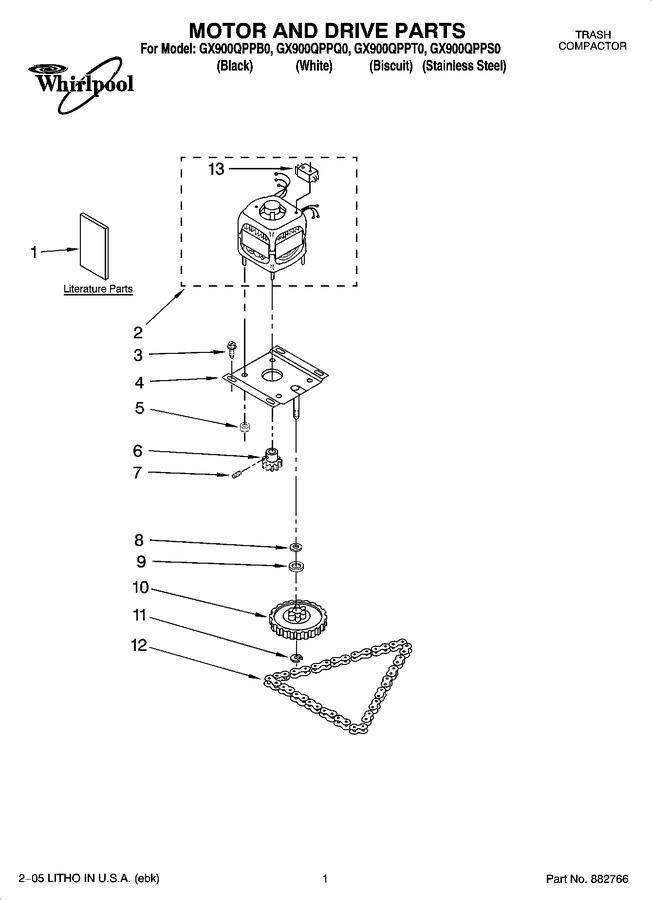 Diagram for GX900QPPT0