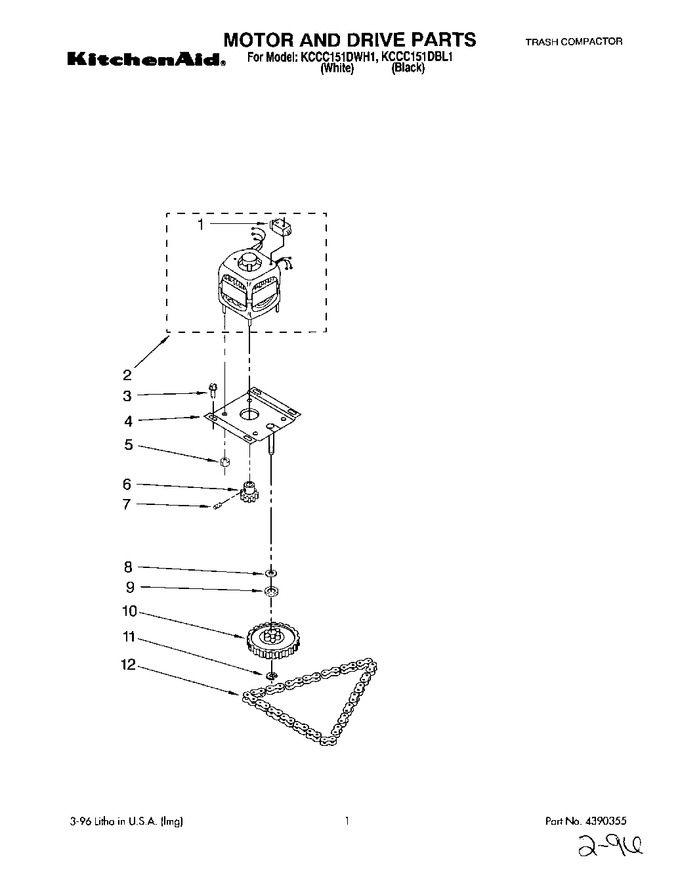 Diagram for KCCC151DBL1