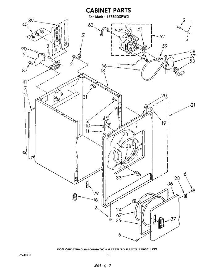 Diagram for LE5600XPW0