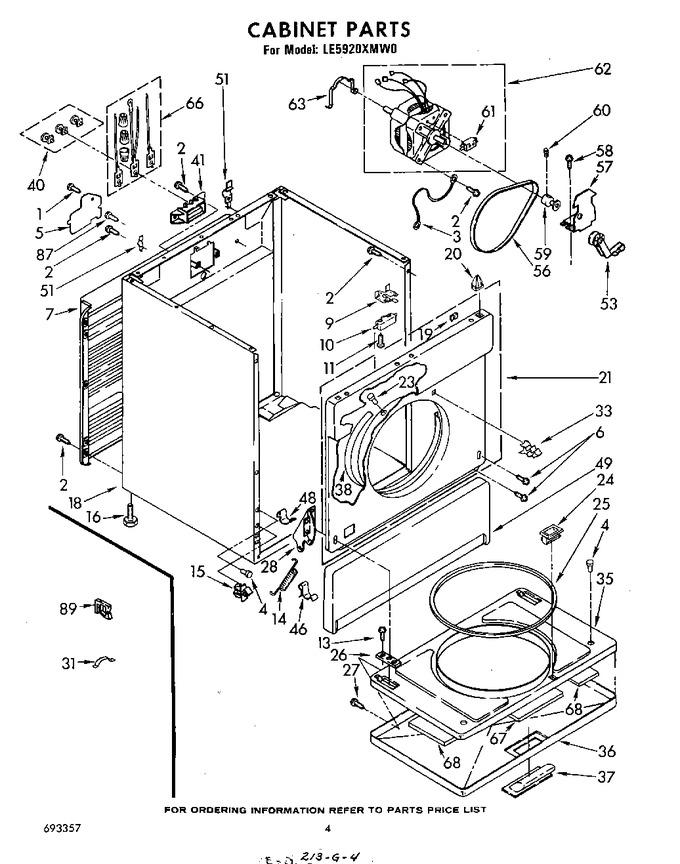 Diagram for LE5920XMW0