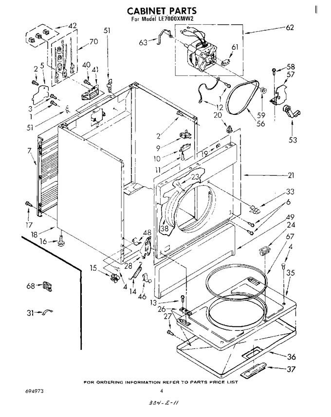 Diagram for LE7000XMW2