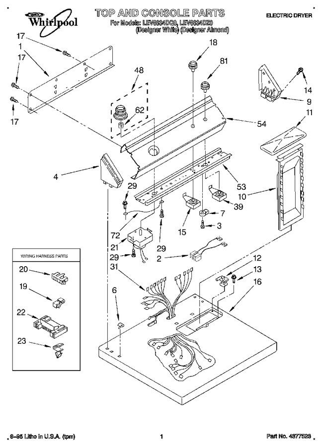 Diagram for LEV6634DZ0