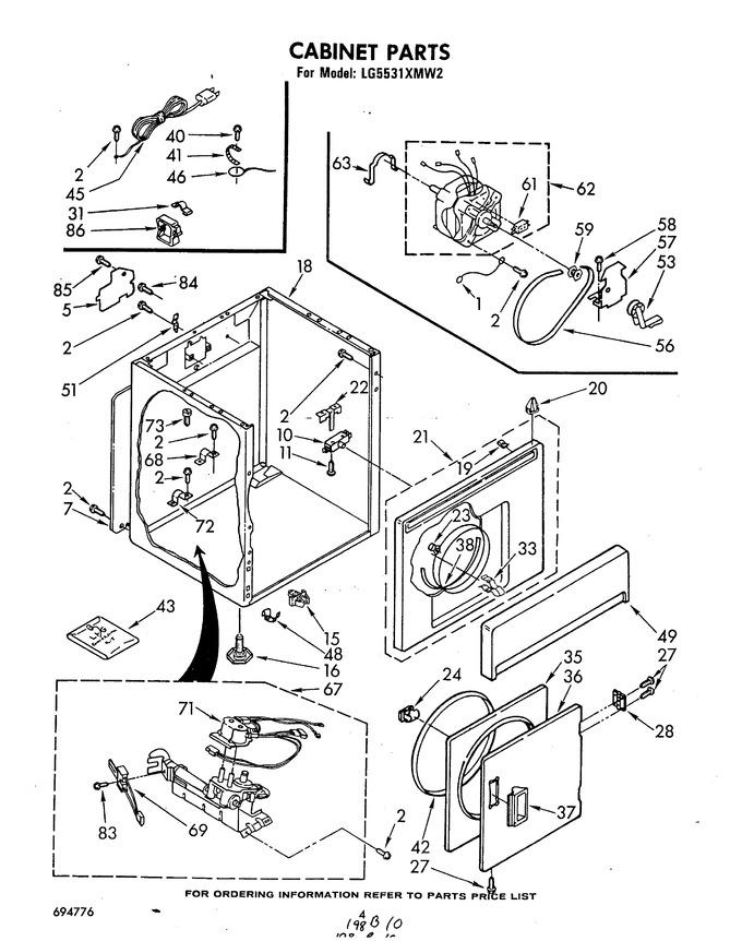 Diagram for LG5531XMN2