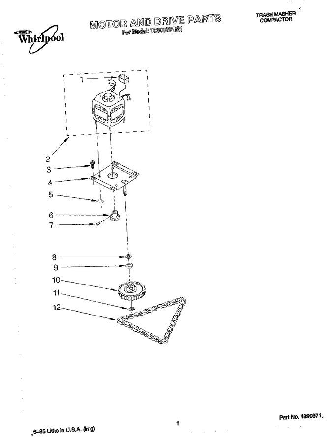 Diagram for TC800SPDB1
