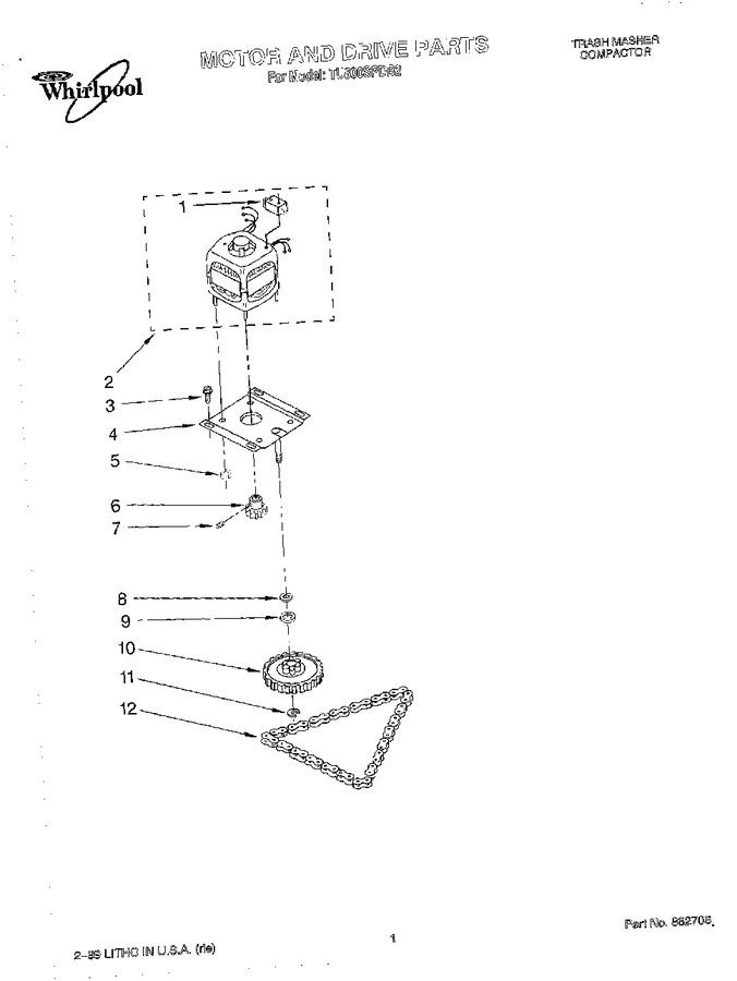 Diagram for TU800SPDB2