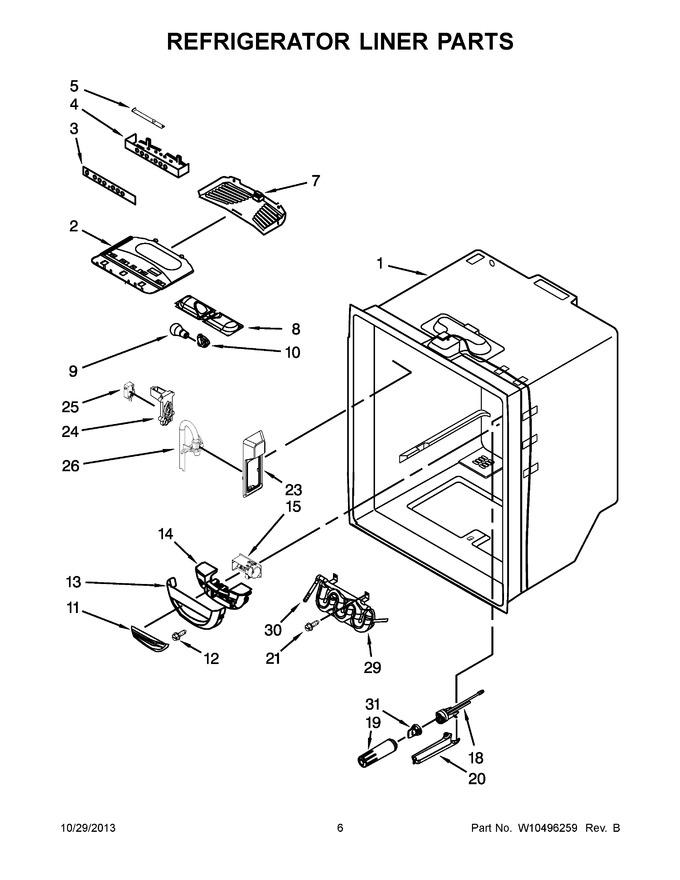 Diagram for KFCP22EXMP3