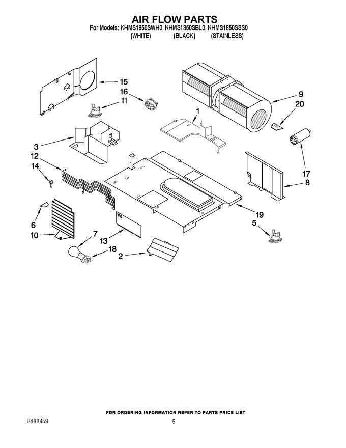 Diagram for KHMS1850SWH0