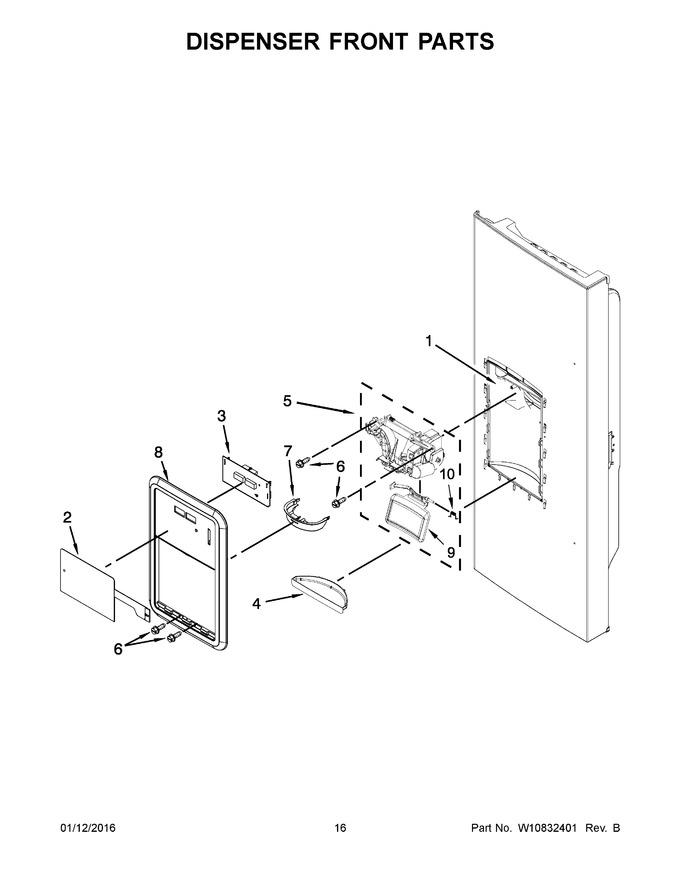 Diagram for KRFC400EBL01