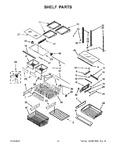 Diagram for 08 - Shelf Parts