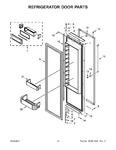 Diagram for 08 - Refrigerator Door Parts