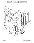 Diagram for 02 - Cabinet, Door And Liner Parts