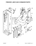 Diagram for 05 - Freezer Liner And Icemaker Parts