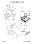 Diagram for 06 - Freezer Door Parts