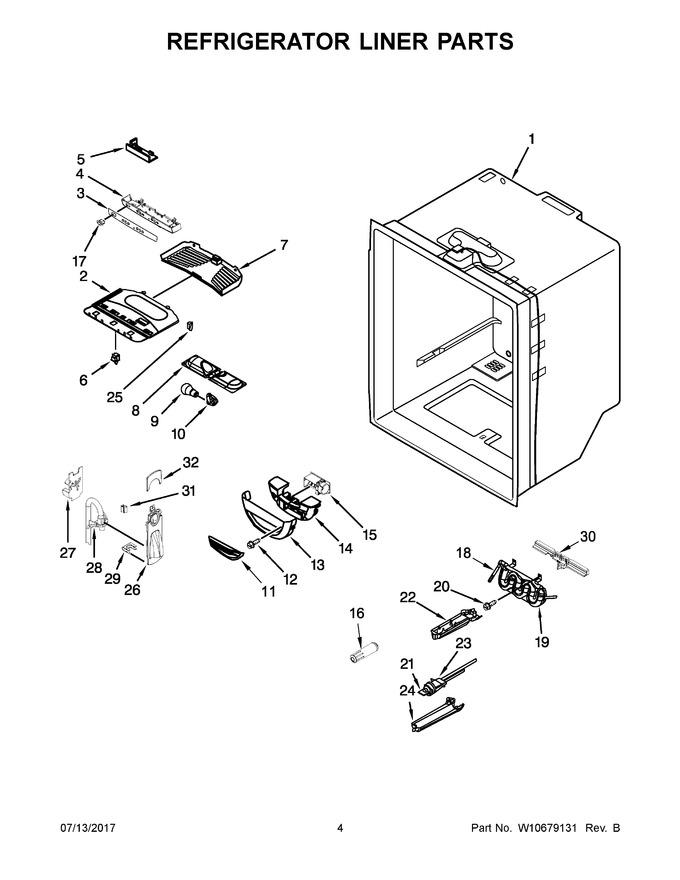 Diagram for WRF535SWBM00