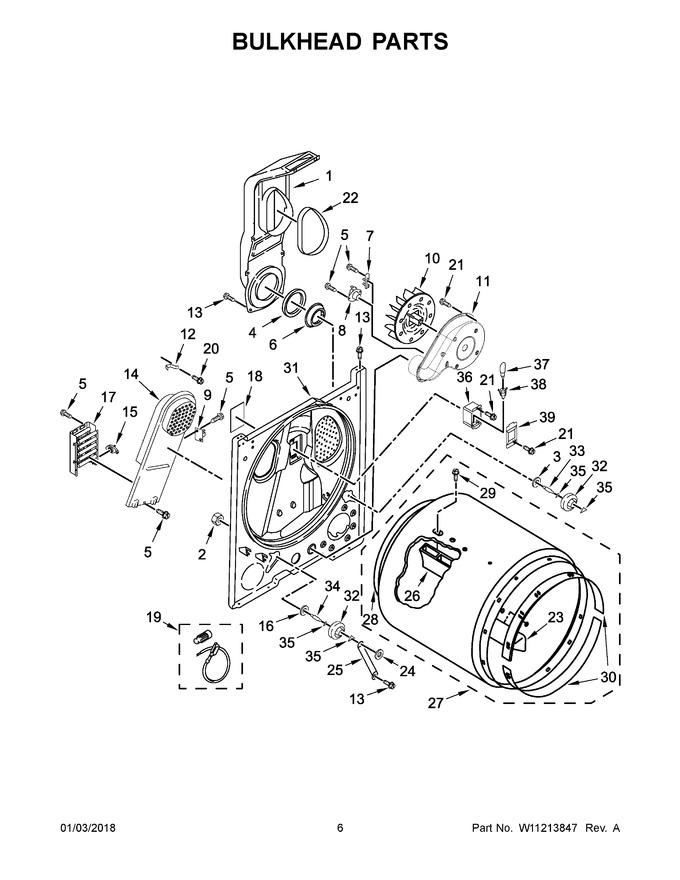 Diagram for WED4850HW0