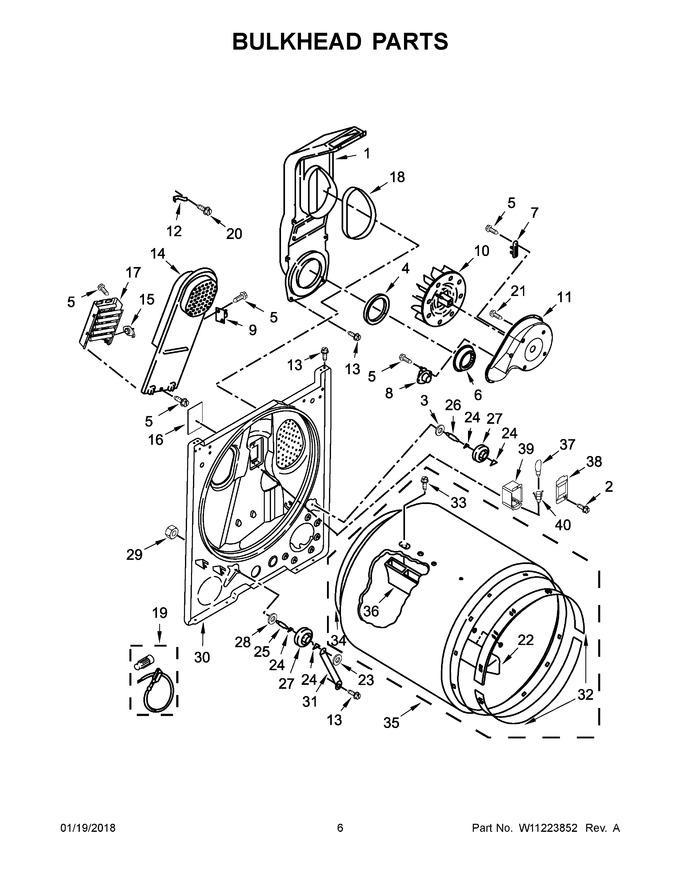 Diagram for WED4950HW0