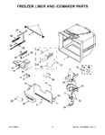 Diagram for 04 - Freezer Liner And Icemaker Parts