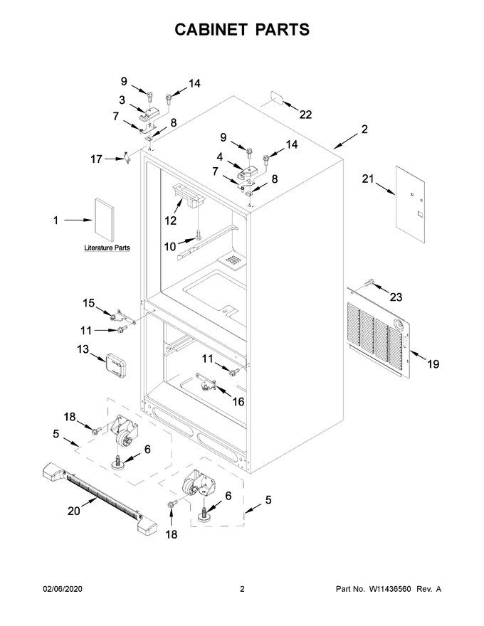 Diagram for WRF532SNHZ03