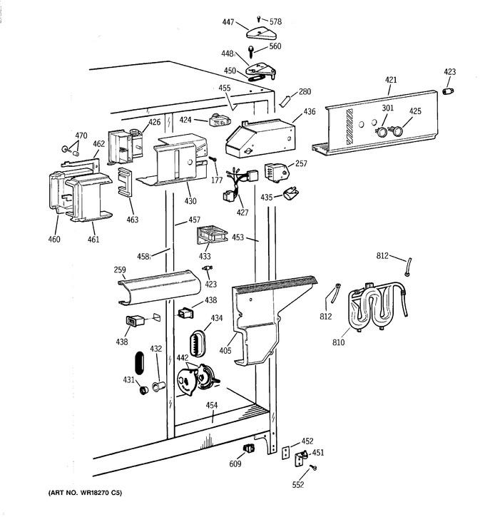Diagram for TFG25PRYFWW