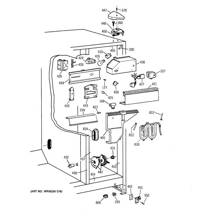 Diagram for TFX22PRXFWW