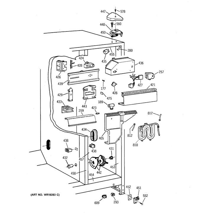 Diagram for TFT27PRBAWW