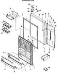 Diagram for 2 - Refrigerator Door