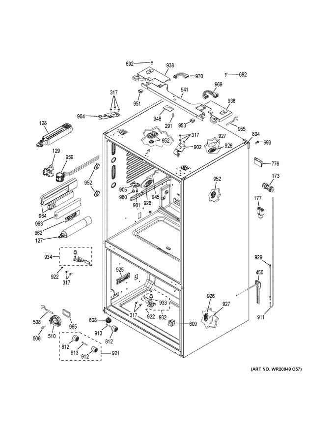 Diagram for DFE28JSKDSS