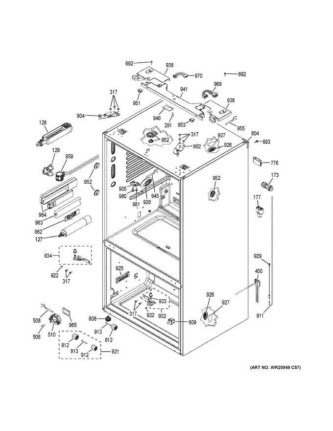Diagram for GFE28GSKESS