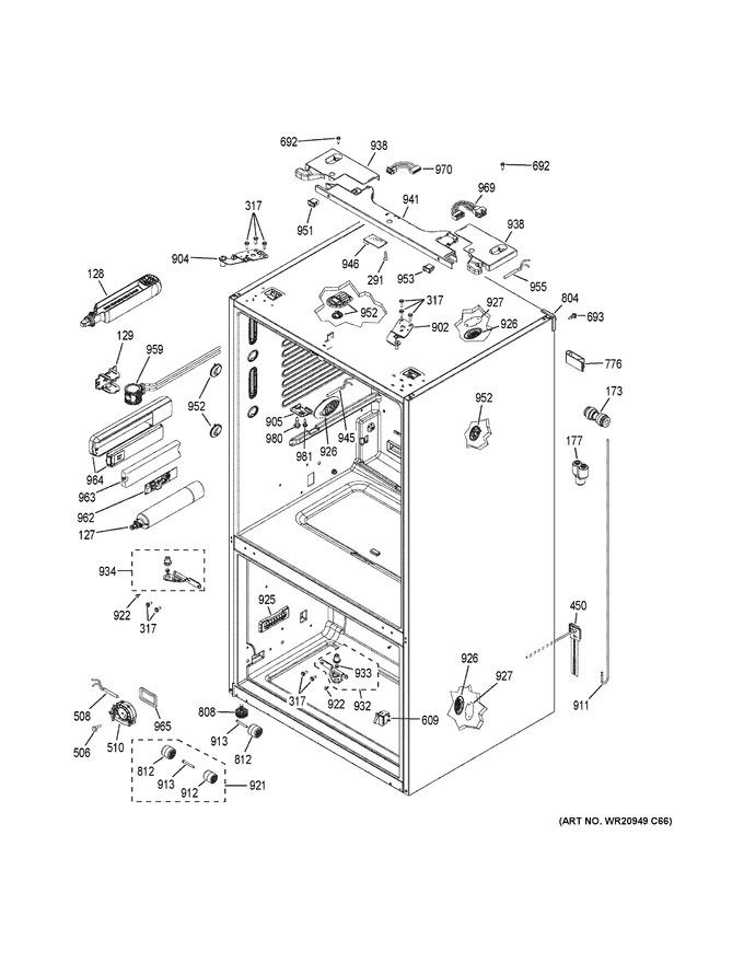 Diagram for GFE28HMKFES