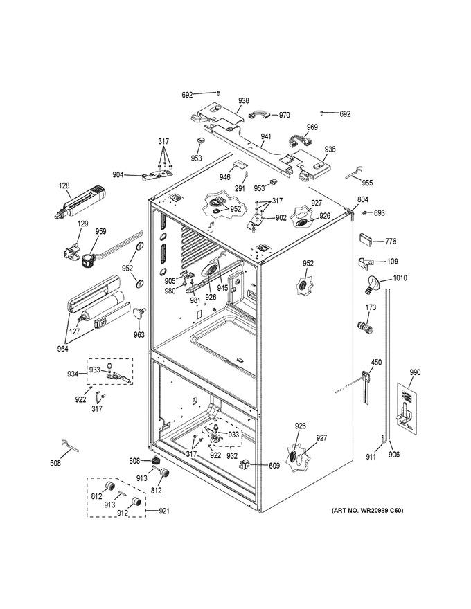 Diagram for PWE23KELBDS