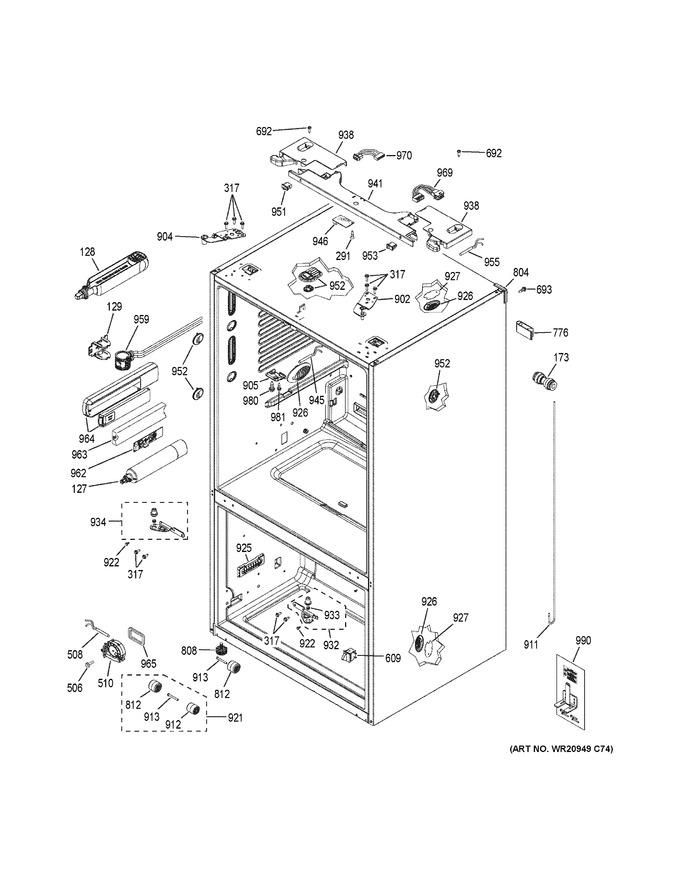 Diagram for GYE22HBLETS