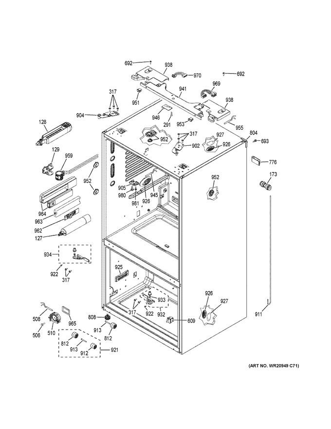 Diagram for DFE28JBLFTS
