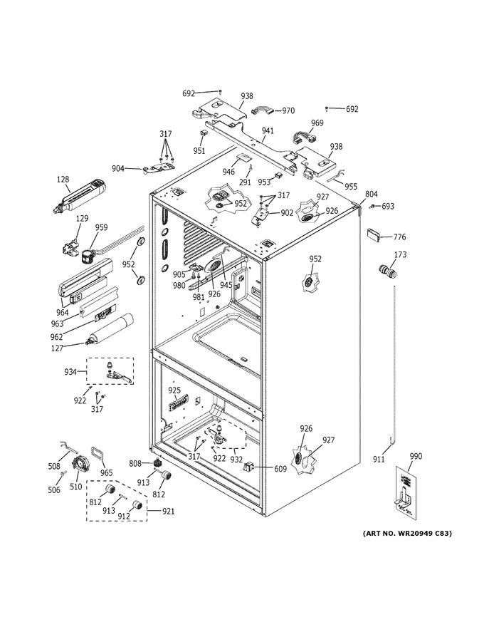 Diagram for GYE22HSKMSS