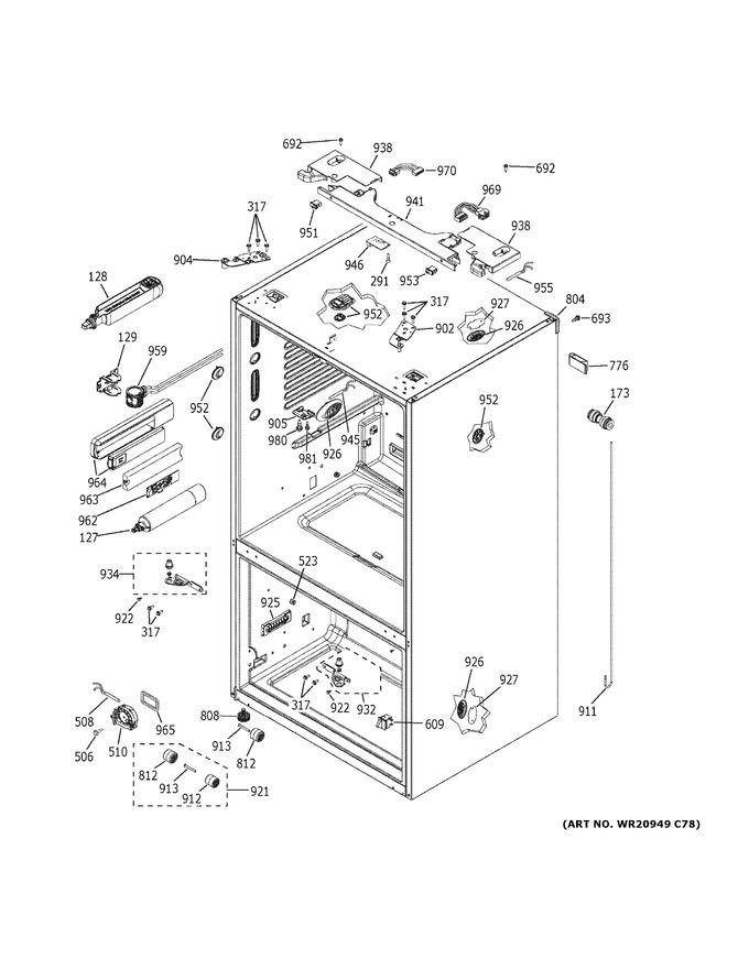 Diagram for PFE28KBLITS