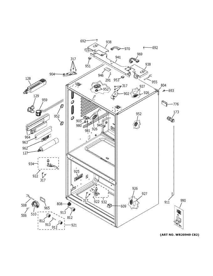 Diagram for PYE22PELFDS