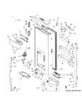Diagram for Dispsenser Door
