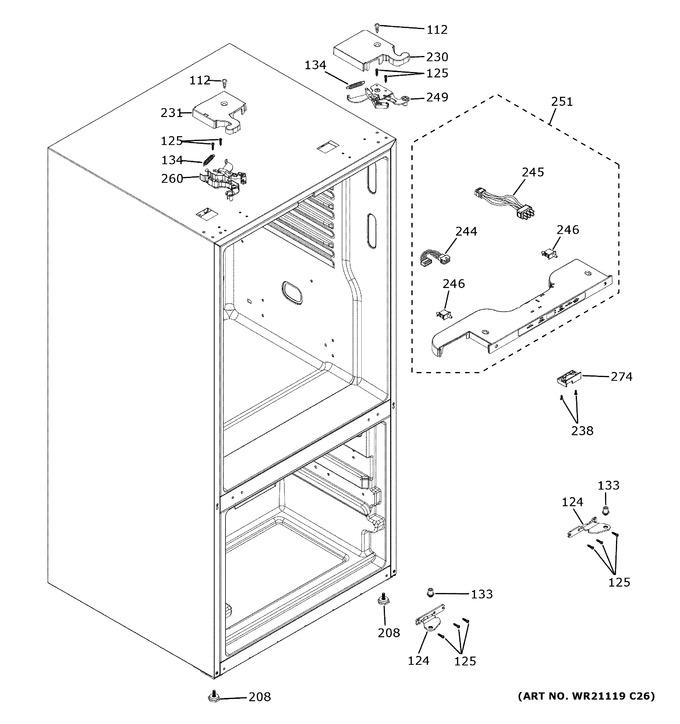Diagram for XNE25JGKNFBB