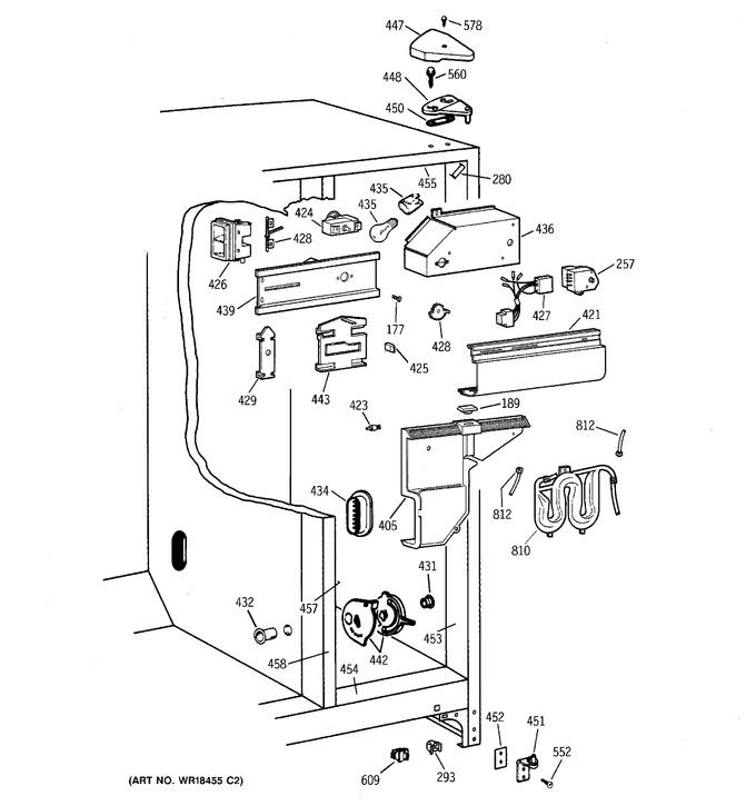 Diagram for TFX22VRBBWW
