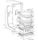 Diagram for 6 - Shelf Parts