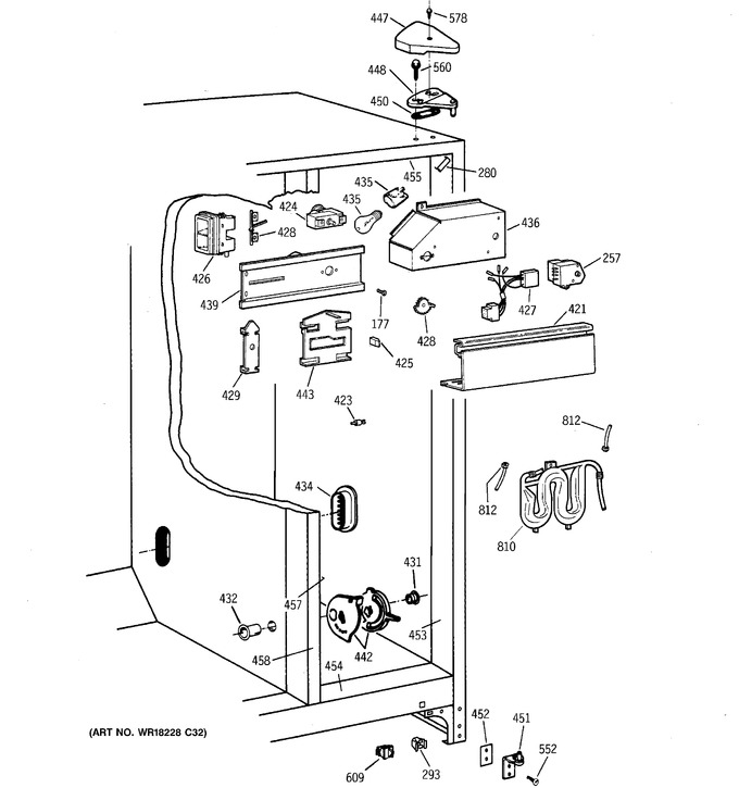 Diagram for TFX22ARBGAA