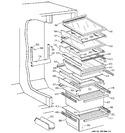 Diagram for 5 - Shelves & Drawers