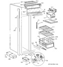 Diagram for 4 - Freezer Section