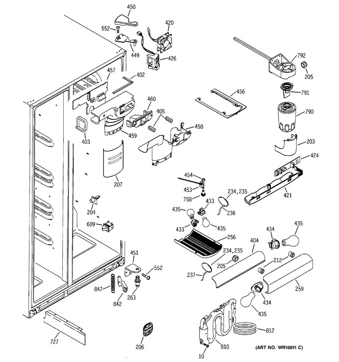 Diagram for GSS25LGMAWW